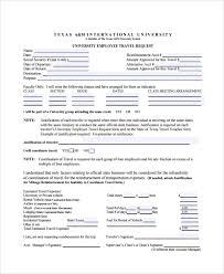 Business Travel Expense Form Template - Vilanovaformulateam.com