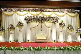 Indian Wedding Stage Decoration Designs