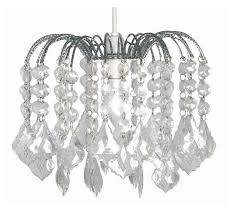 clear acrylic 3 tier crystal pear droplet pendant chandelier ceiling light shade