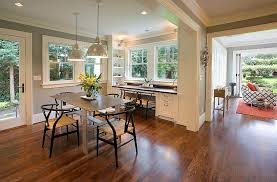 office decor dining room. Plain Office Fine Corner Dining Room Turned Into Smart Home Office Design Emerick  Architects In E  For Decor B