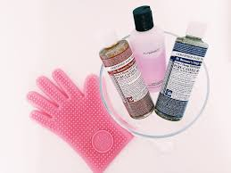 how to clean your makeup brushes mac brush cleanser dr bronners magic soap soap and glory mage glove