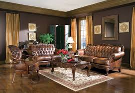 themed brown living room decor