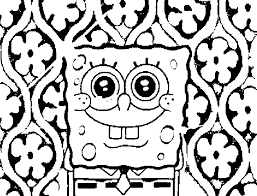 Small Picture Spongebob Coloring Pages For Kids Bebo Pandco