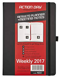 Action Day 2017 World S Best Action Planner Layout Designed To Get Things Done Weekly Daily Monthly Yearly Agenda Calender Appointment