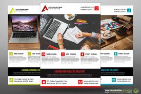 creative business flyer template that s design studio creative business flyer templates