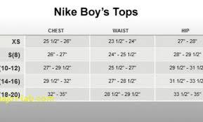 Nike Boys Size Chart 49 Circumstantial Nike Kids Sizing Chart