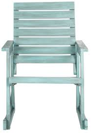 outdoor furniture rocking chairs. Outdoor Rocking Chair In Beach House Blue Finish Furniture Chairs C