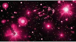 hot pink star backgrounds. Perfect Star Hot Pink And Black Starry Night Wallpaper On Star Backgrounds E
