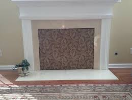 cover up fireplace opening
