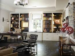 masculine office. Stylish And Dramatic Masculine Home Offices Office D
