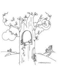 Small Picture Fairy House Coloring PicturesHousePrintable Coloring Pages Free