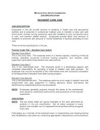 Home Health Care Resume Health Aide Resume Medium To Large Size Of Resident Care Aide Resume