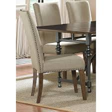 fabric dining chairs with nailheads. liberty ivy park upholstered side chair - overstock™ shopping great deals on dining chairs / alternativ fabric with nailheads c