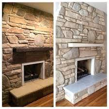 stone sealer fireplace sealing cultured cast lighten white wash