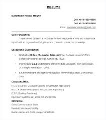 Great Resume Formats Proper Resume Layout Resume Formats Resume