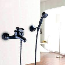 bathtub faucets with handheld shower head for roman tub faucet hand held deck mounted ba