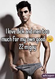 I love gay dick