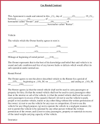 Lease Agreement Example Car Rental Agreement 7 Samples Forms Download In Word