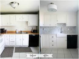 how to add crown molding to kitchen cabinets just a girl and her blog with kitchen