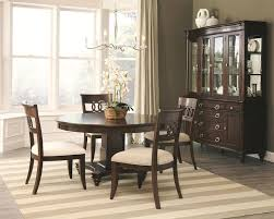 alyssa formal dining room set with round table