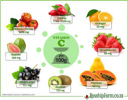How Much Vitamin C Is There Actually In Rosehips Rosehip Farm
