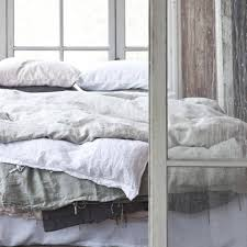 tell me more duvet cover 100 stonewashed linen 220x240 dusty green tell