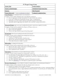 Project Scope Document Template Free Plan Example Definition ...