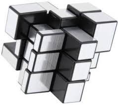 Nohunt <b>High Quality Metallic</b> Stability Sticker-less - 3x3x3 Mirror ...