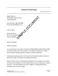 DEBTOWE CA Sample pdf
