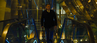 james bond wears a navy peacoat for the second time in the series in skyfall after first wearing a peacoat in the opening scene of royale
