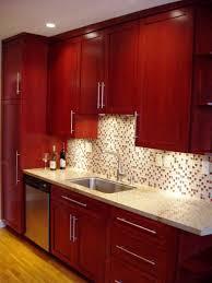 Kitchen Backsplash Red Red Kitchen Cabinets Ideas Island Kitchen Idea