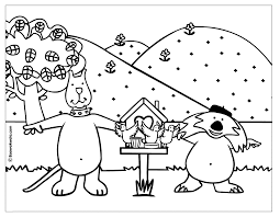 Small Picture Birdhouse Coloring Page Gif Coloring Page Birdhouse In Animal