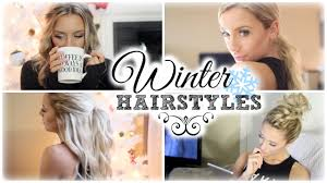 Easy Hairstyles On The Go Easy Winter Hairstyles My Go Tos Youtube