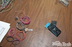 custom wiring harness build gm high tech performance magazine wiring harness two