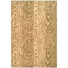 martha stewart living clear all compare layered faux bois dark beige beige 8 ft x 11 ft area rug