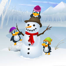 christmas penguin wallpaper. Plain Penguin Christmas Penguin Wallpaper In