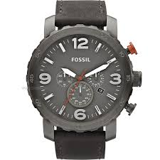 """men s fossil nate chronograph watch jr1419 watch shop comâ""""¢ mens fossil nate chronograph watch jr1419"""