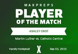 Ashley Crist's (Greendale, WI) Awards | MaxPreps
