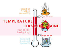 Food Temperature Chart Danger Zone Summer Food Safety