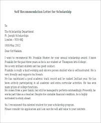 High School Recommendation Letter For Student Scholarship Certificate Templates Free Samples Examples