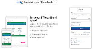 Test Your Bt Broadband Speed Tech Bar Chart Diagram Chart