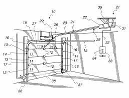chamberlain garage door opener parts diagram home desain 47 throughout garage door opener parts