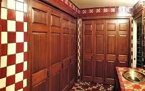 interior bi fold doors only internal with frosted glass bifold closet door