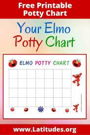 Potty Training Printables Free Elmo Potty Training Chart Acn Latitudes