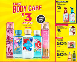 bath and body works semi annual sale end date bath body works take 20 off your purchase plus 75 off during