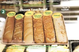 a review of subway s bread selection