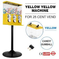 3 Head Candy Vending Machine Simple ONE NEW TRIO 48Head Candy Gumball Vending Machine 48 Cent Gumball