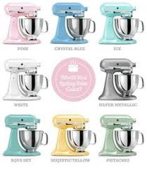 kitchenaid mixer colors. kitchenaid mixer spring bake colors! they come in so many cool colors now! i kitchenaid