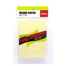 Reusable Flip Chart Paper Deli No 7735 Sticky Notes 12pcs Pads Flipchart Papers