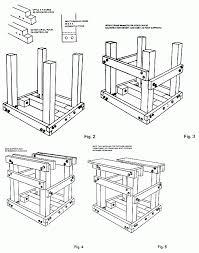 figures 1 through 5 on constructing the kick wheel frame